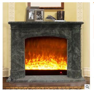 工厂直销定制新款大理石壁炉 欧式石材壁炉架 装饰石雕室内摆件