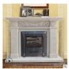 柱子壁炉 曲阳石雕壁炉 大理石欧式壁炉 室内装饰火炉FFBLS-749