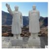 现货石雕毛泽东雕像汉白玉主席全身站像名人伟人校园雕塑厂家直销