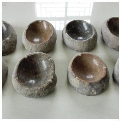 热卖包邮花岗岩鹅卵石烟灰缸 简朴石材烟灰缸 烟灰缸石雕工艺品