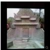 青砂石仿古墓室,龙凤望山,青砂石碑石,水晶黑碑