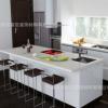 家装整体厨房装修设计 人造石厨房操作台面 耐用耐污 环保安全