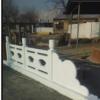 生产加工水泥—河道桥栏杆 仿汉白玉栏杆护栏 水泥桥 庭院桥摆件