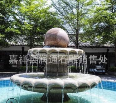 厂家直销 景观石雕喷泉 可来图定做