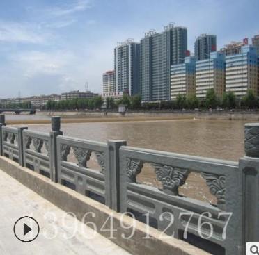 厂家销售石栏杆柱子 护城河石栏杆 花岗岩石雕栏板浮雕大量批发