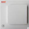 白色人造石板材现货特价 复合亚克力人造石板 颗粒人造大理石