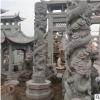 厂家直销大中小型石雕龙柱 花岗岩华表柱