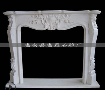 石雕雕刻 福建惠磊景观石雕 酒店雕刻产品 罗马柱壁炉装饰雕刻