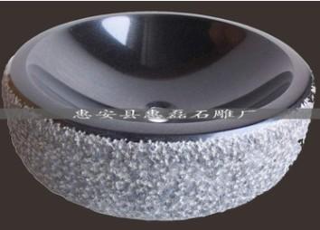福建石雕雕刻厂家生产 家居洗手盆石雕 石材雕刻工艺品批发