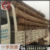 老榆木大梁哪里有 拆房旧榆木木料加工榆木板材厂家