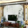 厂家直销大理石纹罗马柱瓷砖背景墙欧式简约客厅电视墙瓷砖微晶石
