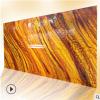 透光石厂家 人造玉石 透光板 来图来样定做 黄色透光石板材
