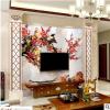 电视背景墙海洋系列 艺术瓷砖现代简约客厅 大理石石材护墙板