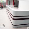 北京厂家专业生产4s店大厅台 烤漆收银台前台 烤漆前台 定制