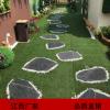 青石板踏步石 园林汀步庭院草坪踏步石地砖文化砖板岩定制