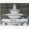 惠安白麻石材喷水池 三层石雕跌水
