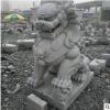 众正石雕雕刻石狮来样定制供应各种尺寸中国风古典门前摆件厂直销