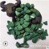 厂家批发水磨石红色 黄色 白色 绿色洗米石 机制鹅卵石 彩色石子