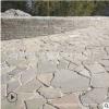 批发浆砌片石 米黄色铺地碎拼石 河道护坡片石 量大从优