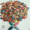 厂家供应美甲云母片3-5mmDIY装饰 真石漆彩色复合岩片 染色岩片