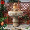 石雕喷泉风水球流水喷泉室内大理石喷泉户外庭院小石头喷泉