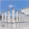大型广场石雕盘龙柱汉白玉浮雕十二生肖柱广场文化柱大理石华表